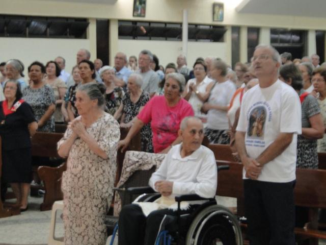 Dia do Idoso – Missa 19hs – Benção Especial para os Idosos - Pastoral Familiar