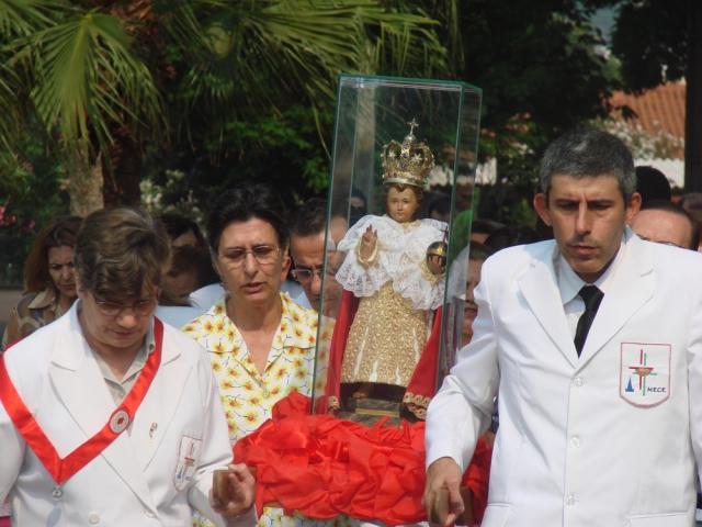 Procissão e encerramento da novena do Menino Jesus  - 2007