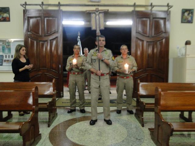 Missa com a participação dos Bombeiros de Maringá - dia de São Floriano