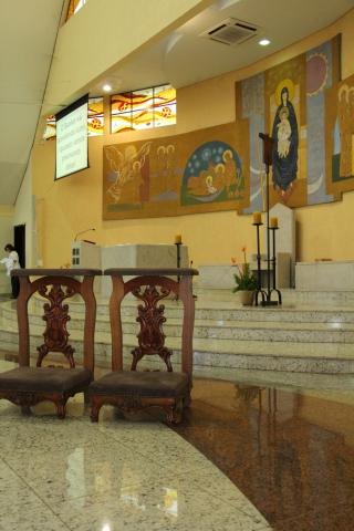 Adoração e despedida Padre Reginaldo Teruel