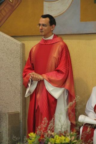 Missa Acolhida Padre Marcos e Envio Pastoral