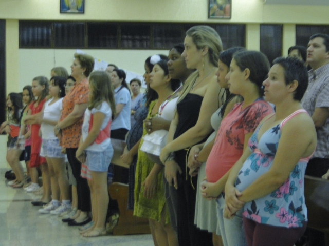 Santa Missa – Dia Nacional do Nascituro – Pastoral Familiar
