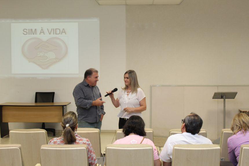 "PALESTRA ""SIM A VIDA"" - PSICOLOGA MARISA APARECIDA TRABUCO FRANCO"