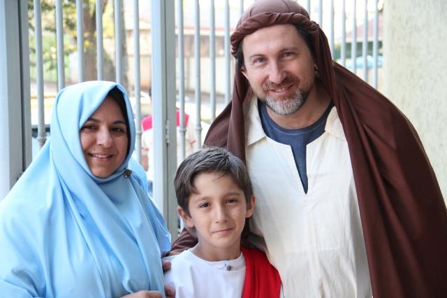 Missa dia dos pais na capela