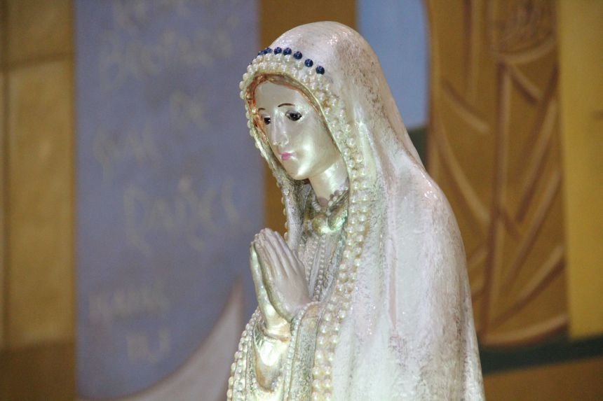 Missa e Coroação de Nossa Senhora de Fátima