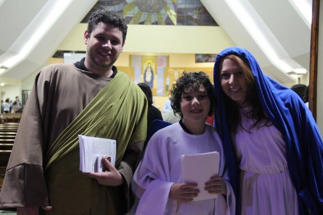 Abertura da Semana da Família - Missa domingo a noite na Matriz e e acolhida do Pe. Lucas, com Dom Anuar e Pe. Reginaldo Teruel