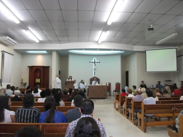 Semana da Família - MISSA NA CAPELA SANTA RITA DE CÁSSIA