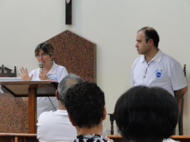 Palestra Pastoral Familiar  - Eduardo e Dalva
