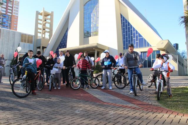Pastoral Familiar – III passeio Ciclístico da Família – Catedral 9h