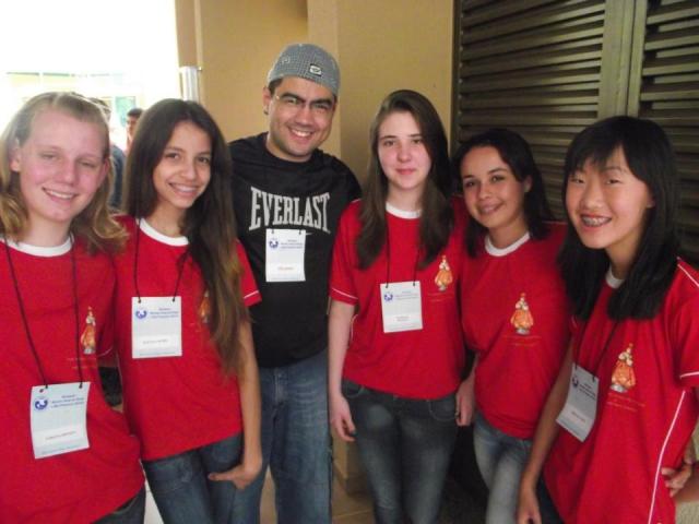 Encontro com a pastoral de adolescentes