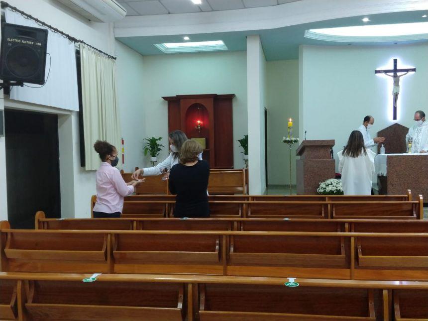 Santa Missa Capela Santa Rita de Cássia