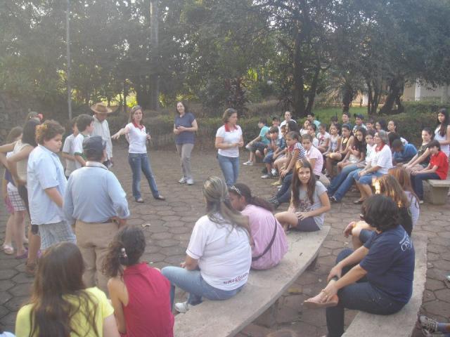 Visita da Catequse ao Asilo São Vicente de Paulo