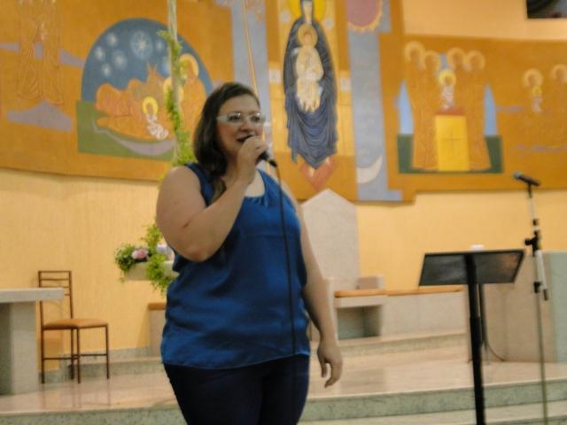Recital com os alunos do projeto Cantare