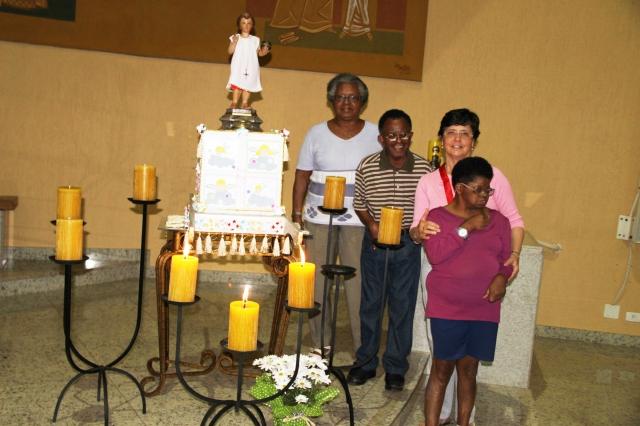 4º DIA DA NOVENA DO MENINO JESUS DE PRAGA - 2013