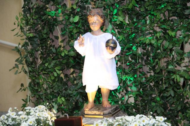 Segundo dia da Novena do Menino Jesus de Praga