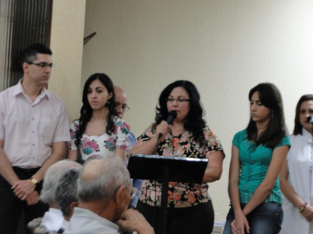Encerramento da Semana Nacional da Família - Missa MATRIZ - TEMA: FESTA - RENOVAÇÃO DO MATRIMÔNIO e BENÇÃO PARA OS CASAIS que completam 25 E 50 ANOS DE CASAMENTO em 2012.