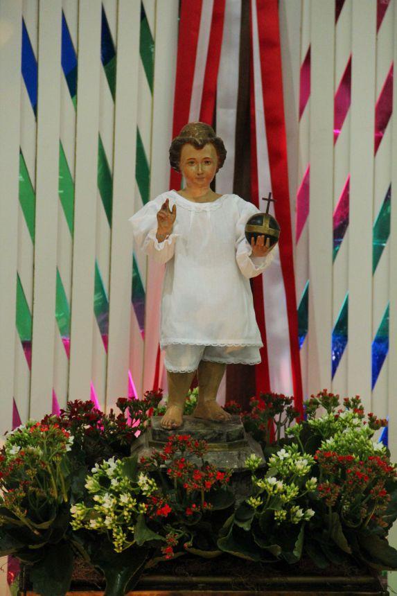 Missa Acolhida da Imagem do Menino Jesus