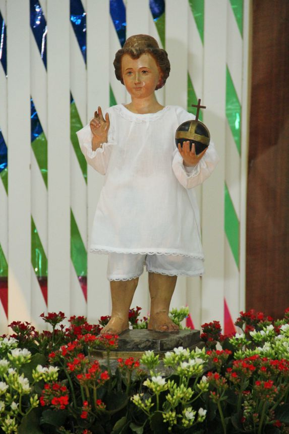 Primeiro dia Novena Menino Jesus de Praga