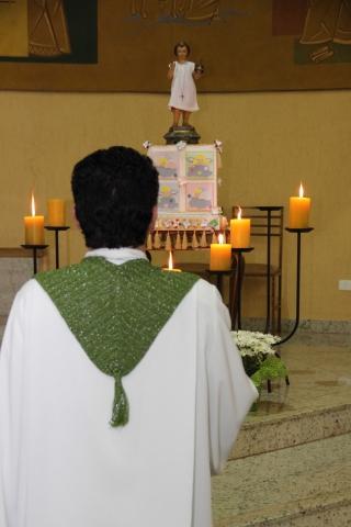 7º DIA DA NOVENA DO MENINO JESUS DE PRAGA - 2013