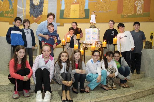 8º DIA DA NOVENA DO MENINO JESUS DE PRAGA - 2013