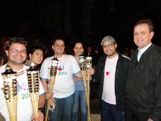 JMJ Rio 2013 - Terço luminoso no Bosque II – 20h