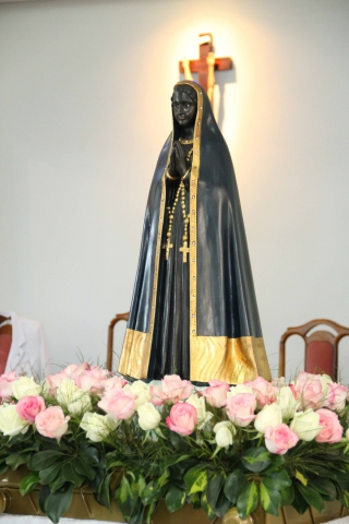 Missa e coroação de Nossa Senhora Aparecida