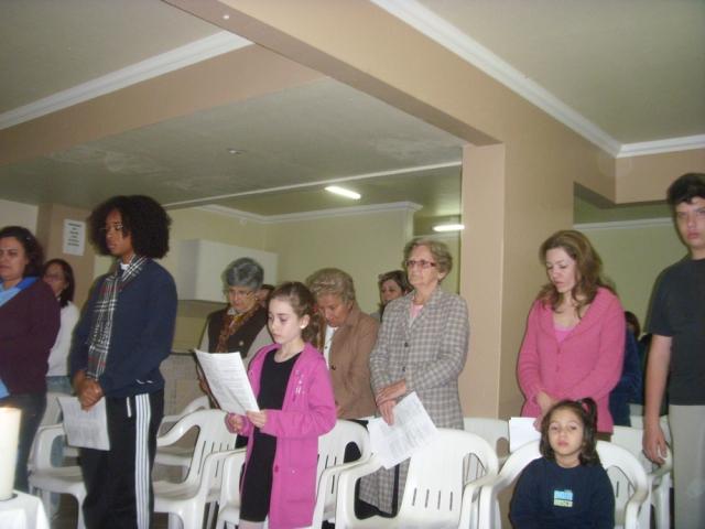 Missa na Comunidade São João Batista - Condomínio Serra Graciosa