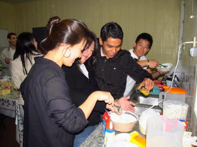 Grupo de jovens CCEM, Ir. Zélia e o seminarista Eduardo