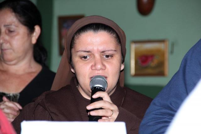 Missa na Comunidade Nossa Senhora Aparecida - Residência do Sr. Dirceu de Sousa Rodrigues e Patricia – Rua Pernambuco, 24 Vila Emilia