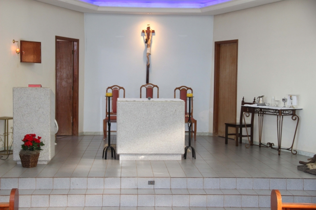 &Uacuteltima Missa na atual Capela Nossa Senhora Aparecida