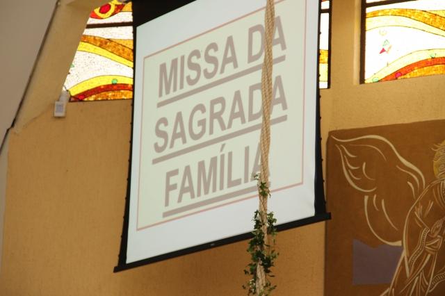 Santa missa: Sagrada Família.