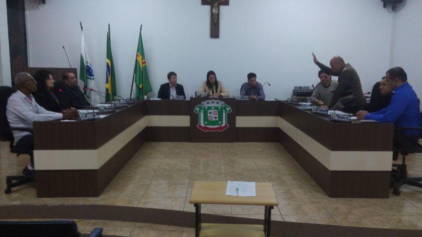Antonio Alamir Gatto toma Posse no cargo de Vereador desta Câmara Municipal