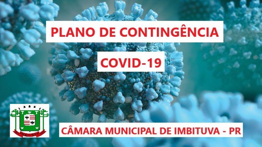 PLANO DE CONTINGÊNCIA AO COVID-19 NO ÂMBITO DO PODER LEGISLATIVO MUNICIPAL DE IMBITUVA - PR.