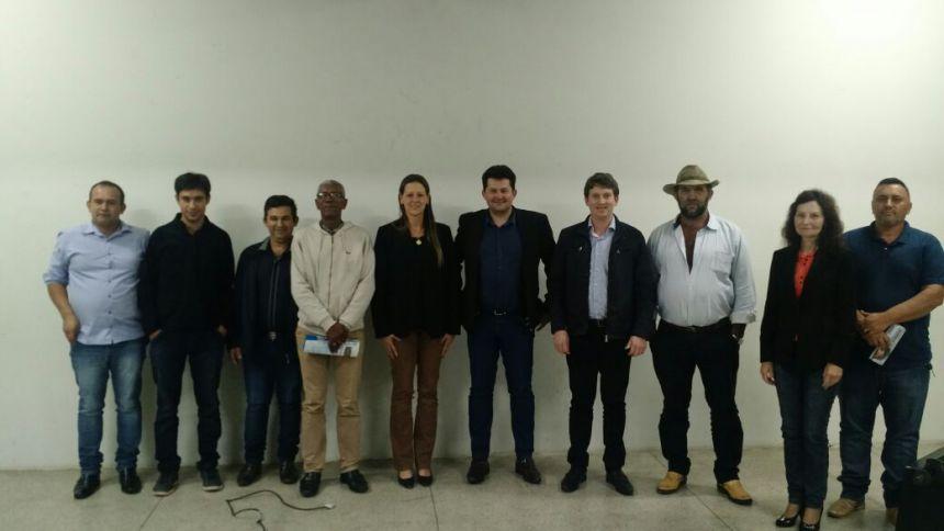 Vereadores da Câmara Municipal de Imbituva Participam de Audiência Publica Contra a Reforma da Previdência