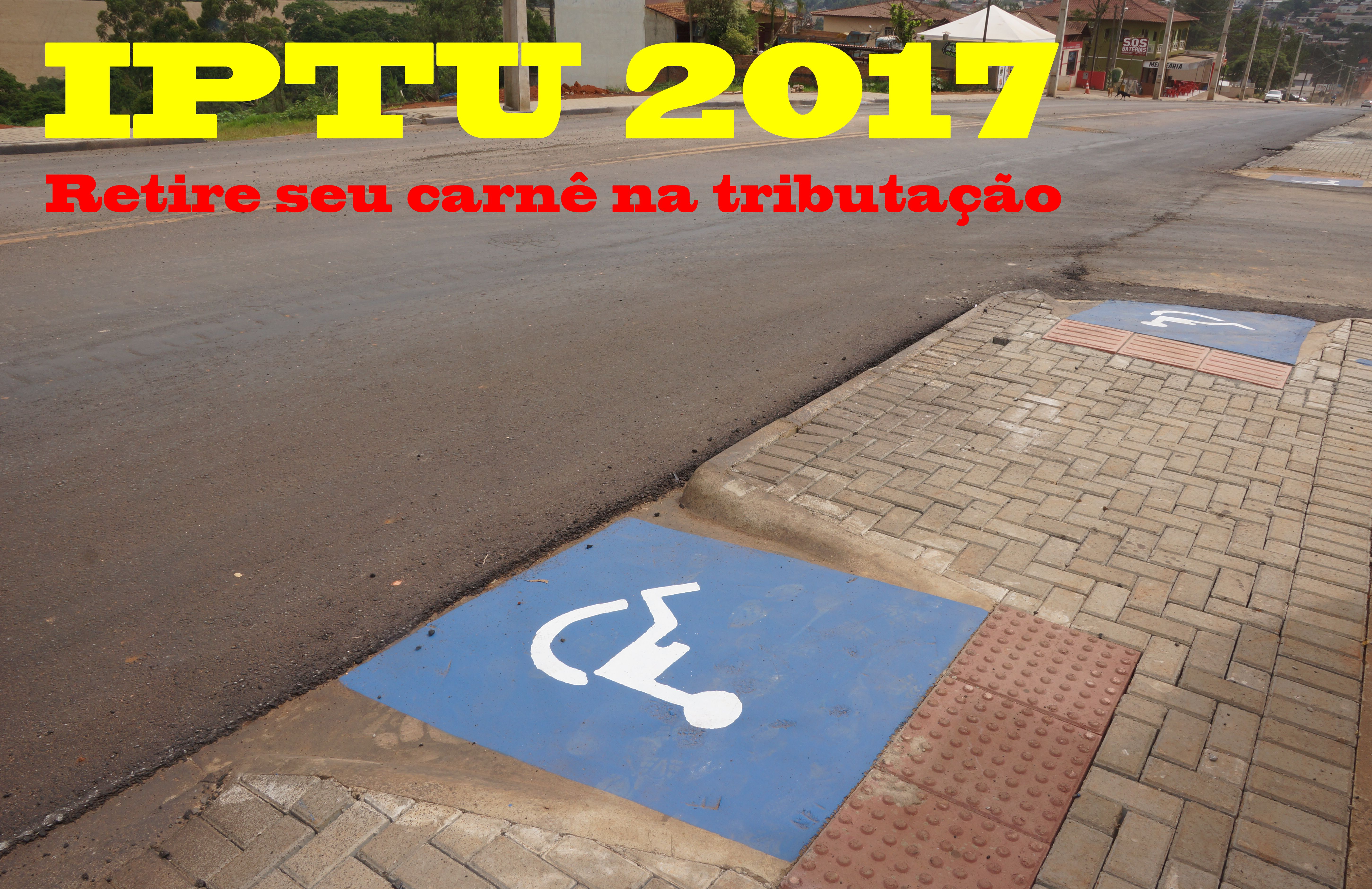 Carnês do IPTU já podem ser retirados na tributação