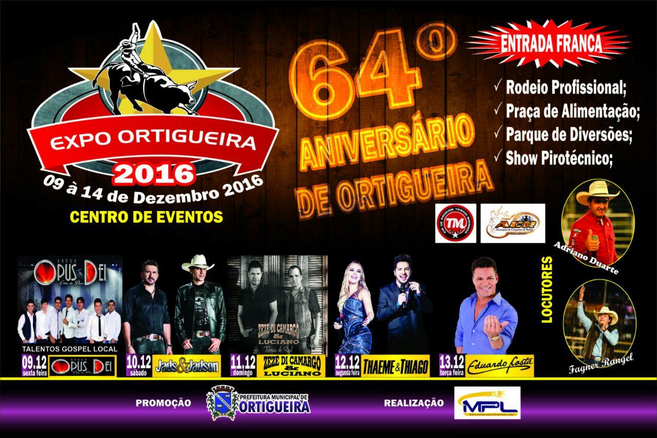 Ortigueira comemora seu 64º aniversário com grande festa