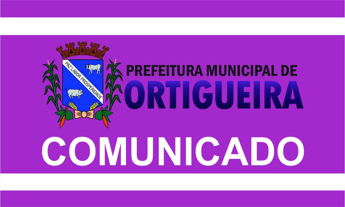 COMUNICADO: Publicação de notícias no site e nas redes sociais da Prefeitura está suspensa