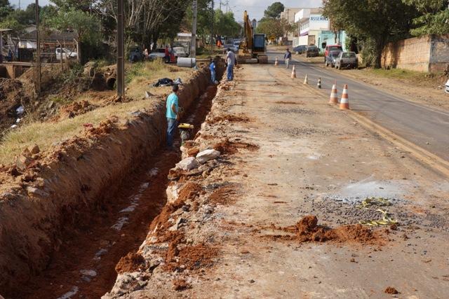 Iniciada Revitalização da Avenida Paraná