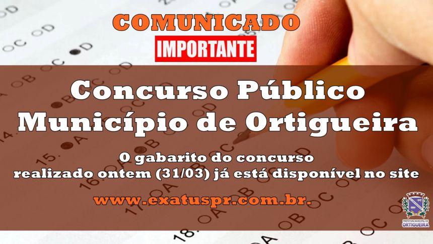Concurso Público - Município de Ortigueira