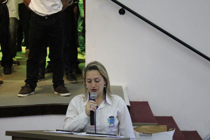 CERIMÔNIA DE JURAMENTO À BANDEIRA E ENTREGA DO CDI