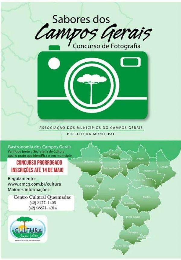 CONCURSO DE FOTOGRAFIA - SABORES DOS CAMPOS GERAIS