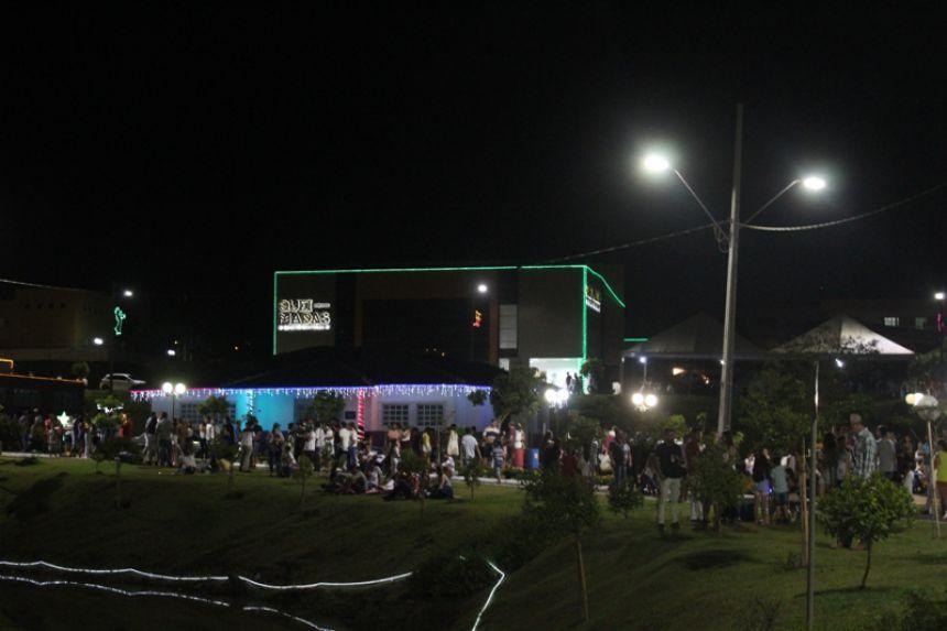 Festa de Réveillon no Lago Municipal