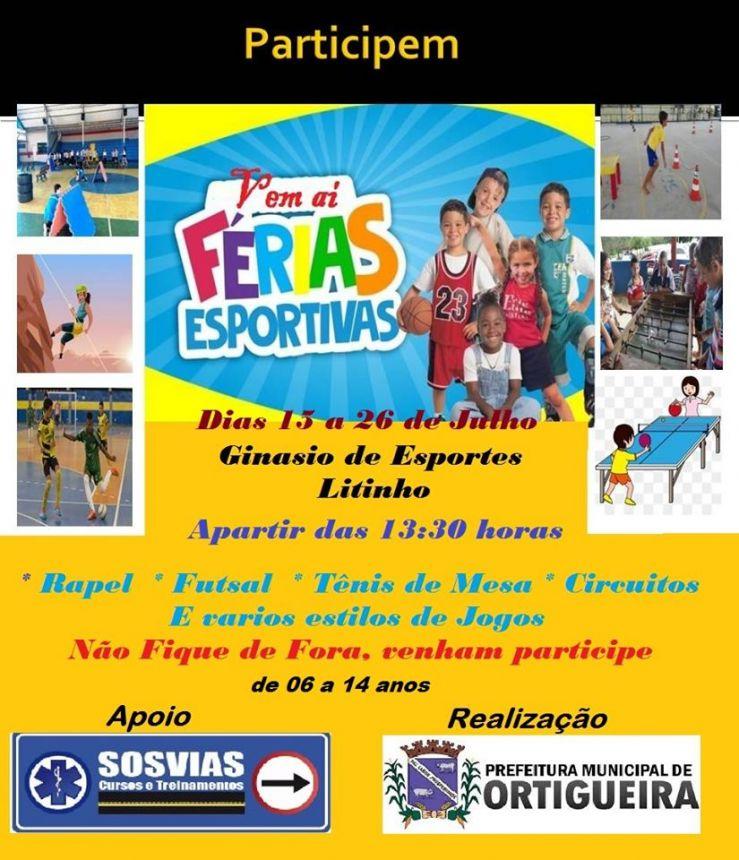 1º Ferias Esportivas