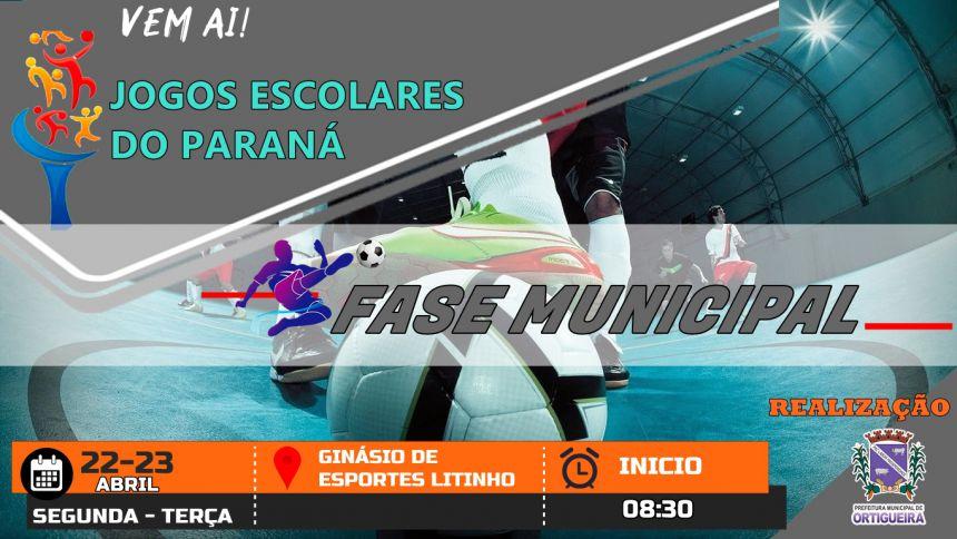 Vem AI!   Jogos Escolares do Paraná  Fase Municipal