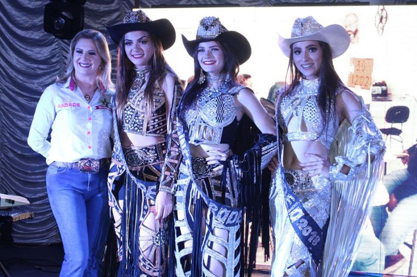 Vencedoras do Concurso Rainha do Rodeio 2019