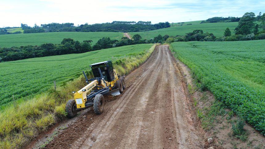 Melhoria em estradas rurais