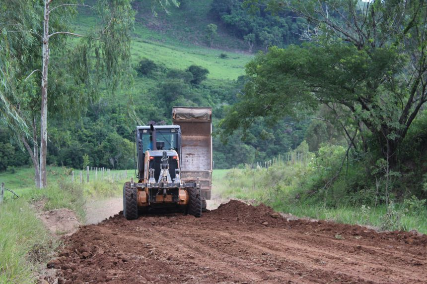 Estradas do interior recebem melhorias