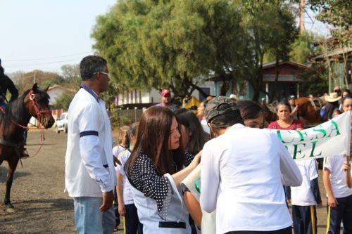 Apresentação da Fanfarra Municipal de Ortigueira (FAMO) em Cavalgada na Briolândia