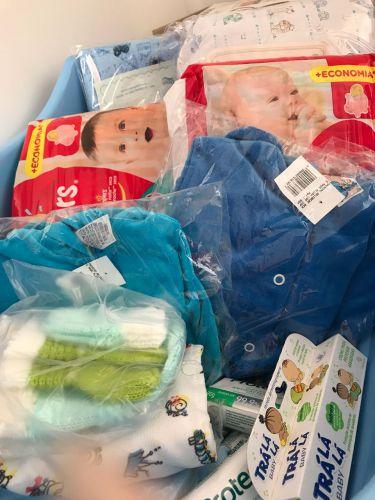 Entrega de kits de natalidade
