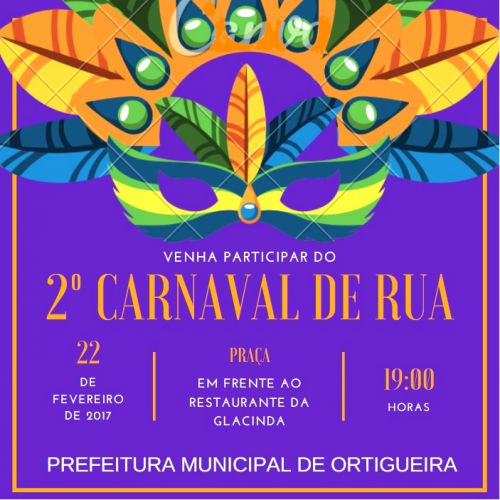 2º Carnaval de Rua da Saúde. Participe!
